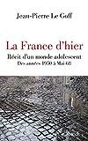 La France d'hier (Essais - Documents) (French Edition)