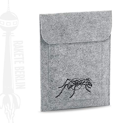 Tablet Filzhülle 'Ameise - gezeichnet'