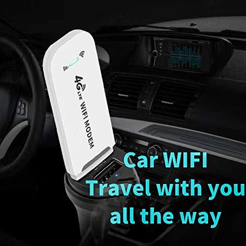 MCLseller 150 Mbit/s USB 4G LTE SurfStick,Wi-Fi freigeschaltet, USB-WLAN-Adapter, tragbares Dongle-Modem, drahtloser Dongle für Desktop-Laptops