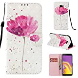 Galaxy J4 Plus 2018 Case Flip PU Leather Wallet Phone Cover