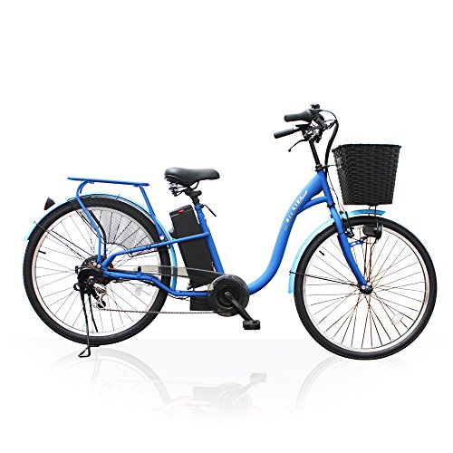 Airbike 電動アシスト自転車 26インチ トルクセンサー式 型式認定モデル 207 (ブルー)