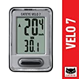CatEye Velo 7 Bike Computer with Odometer and Speedometer