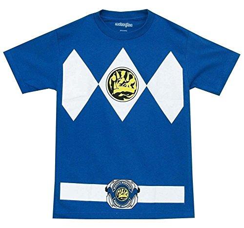 Power Rangers - Camiseta para adulto con estampado del ranger de los power rangers