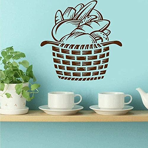 ffvve Calcomanías de pared de vinilo extraíbles para decoración del hogar, azulejos de cocina, decoración decorativos, 59 x 59 cm