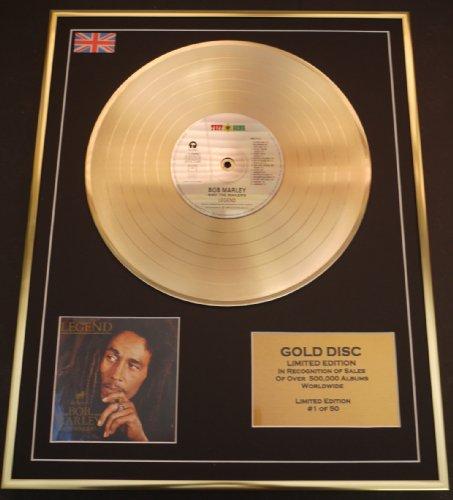 BOB MARLEY/Goldene Schallplatte Record Limitierte Edition/LEGEND