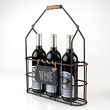 Vintage Bottle Carrier - Wine
