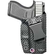 Concealment Express IWB KYDEX Holster fits FNH 509   Right   Carbon Fiber Black