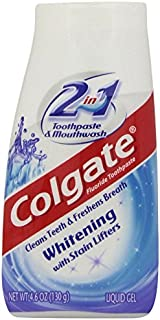 Colgate 2-in-1 Whitening Toothpaste Gel - 4.6 ounce