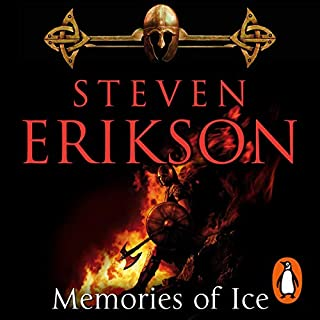 Memories of Ice     The Malazan Book of the Fallen 3              By:                                                                                                                                 Steven Erikson                               Narrated by:                                                                                                                                 Ralph Lister                      Length: 43 hrs and 54 mins     48 ratings     Overall 4.9