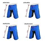 Zoom IMG-2 lixada pantaloncini da ciclismo uomo