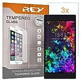 pack 3x pellicola salvaschermo per razer phone 2, pellicole salvaschermo vetro temperato 9h+, di qualità premium