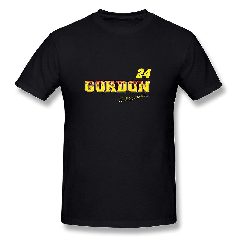 成人 面白い ジェフ ゴードン モータースポーツ タンクトップ 体に合う Black