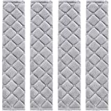 Tatuo 4 Pack Car Seat Belt Pads Seatbelt Protector Soft Comfort Seat Belt Shoulder Strap Covers Harness Pads Helps Protect Your Neck and Shoulder (Gray)