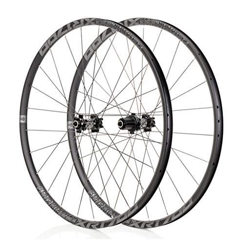 LBBL - Juego de ruedas para bicicleta, ruedas tubulares 700 C, liberación rápida, 8 9 10 11 velocidades, freno de disco híbrido, 29 pulgadas, resistente a la hebilla, color C, tamaño 29inch