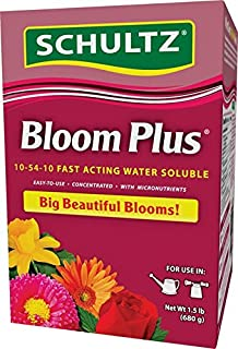 Schultz 1.5# Bloom Plus Water Soluble Plant Food (3 Pack(1.5 pounds))