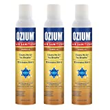 Ozium A807035-3 8 Oz. Air Sanitizer & Odor Eliminator for Homes, Cars, Offices and More, Vanilla Scent - 3 Pack