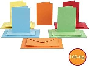 /Plain Index Cards/ Juvale Confezione da 100/Biglietti di Flash per Studio o Fai da Te/ Kraft Marrone /Perfetto per apprendimento delle Lingue/ 8,4/x 13,2/cm /130/gsm