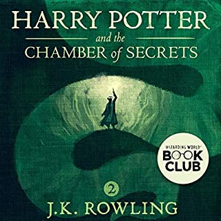 Harry Potter and the Chamber of Secrets, Book 2 audiobook cover art