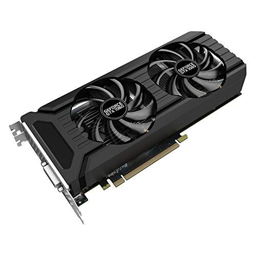 Palit GeForce GTX 1060 NE51060015F9D Dual 3GB Grafikkarte (Speichertaktgeschwindigkeit: 4000 MHz)