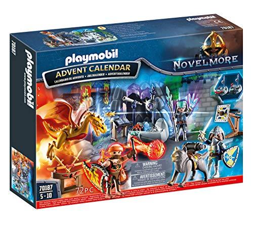 Playmobil - Calendrier de lAvent Duel de Chevalier - 70187