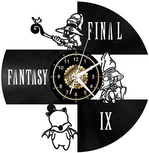 tjxu Reloj de Pared de Vinilo Reloj de Pared de Disco de Vinilo Reloj de Pared de Vinilo Retro Caja de música
