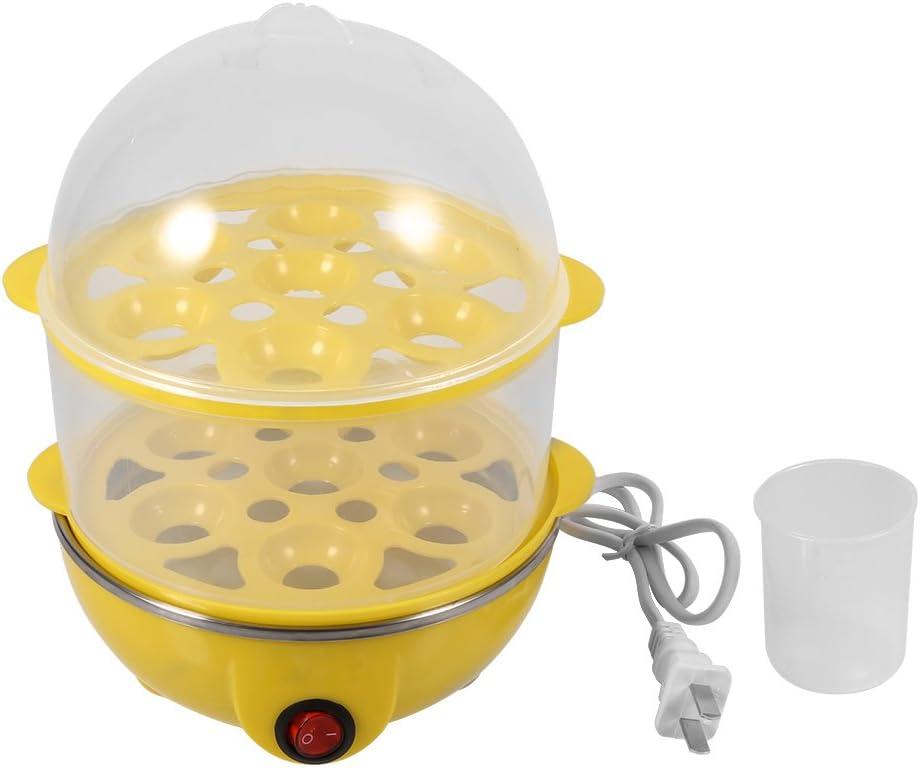 Egg Maker Fashionable Steamer Rapid Bargain sale Double-Layer El Multi-functional