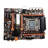 Yoking Mainboard X99 2011 V3-Pin DDR4 X99 ECC SATA 3.0 mit Speicher M.2 NVME SSD USB 3.0 DDR4