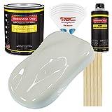 Restoration Shop - Arctic White Acrylic Enamel Auto Paint - Complete Gallon Paint Kit - Professional Single Stage High Gloss Automotive, Car, Truck, Equipment Coating, 8:1 Mix Ratio, 2.8 VOC