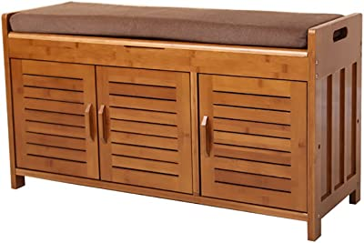 Amazon.com: Festnight Wooden Shoe Rack Entryway Storage ...