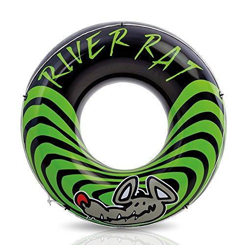 """Intex River Rat Swim Tube, 48"""" Diameter, for Ages 9+ , Black"""