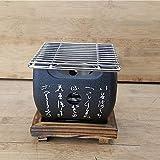 Barbecue de table traditionnel japonais Hibachi - Barbecue portable à...