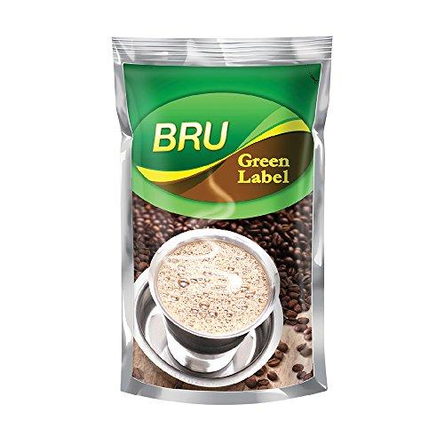 BRU Green Label Coffee, 500g Poly Pack