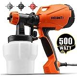 REXBETI Ultimate-750 Paint Sprayer, 500 Watt High Power HVLP Home Electric Spray...