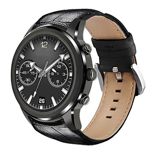 Smartwatch, Smart Watch Inteligente con Llamada 3G WiFi, Monitoreo De La Frecuencia Cardíaca del Sueño, Recordatorio De Información Inteligente, Reloj Deportivo con Podómetro,1 + 8GB Silver