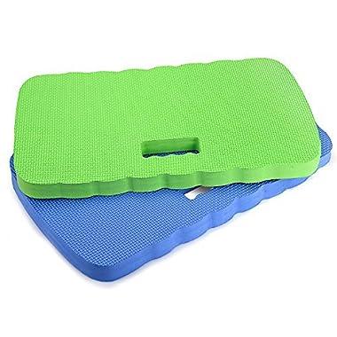 Kneeling Pad,Fitian Knee Protection Garden Kneeler Bath Kneeler Floor Kneeler Yoga Kneeler Mat for Gardening,Baby Bath Tub Bathing,Cleaning,Praying and Exercise(2 Pcs Blue&Green)