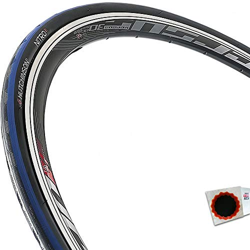 HUTCHINSON Reifen Nitro 2 Draht 28Zoll 700x25C,25-622 schwarz blau Fahrrad