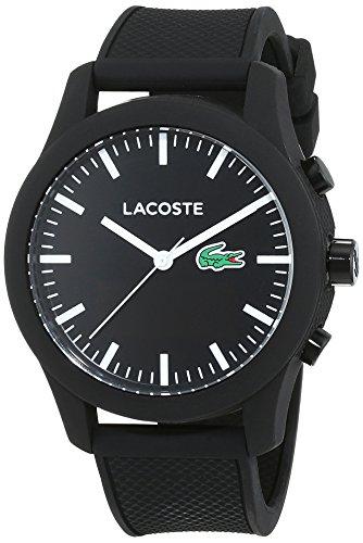 Lacoste Herren Analog-Digital Quarz Uhr mit Silikon Armband 2010881