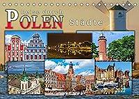 Reise durch Polen - Staedte (Tischkalender 2022 DIN A5 quer): Staedte in Polen, sehr viel Historie und ueberraschend vielseitig. (Monatskalender, 14 Seiten )