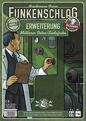 Unbekannt Funkenschlag Erw. 12 (Recharged Version): Mittlerer Osten/Südafrika - Deutsch