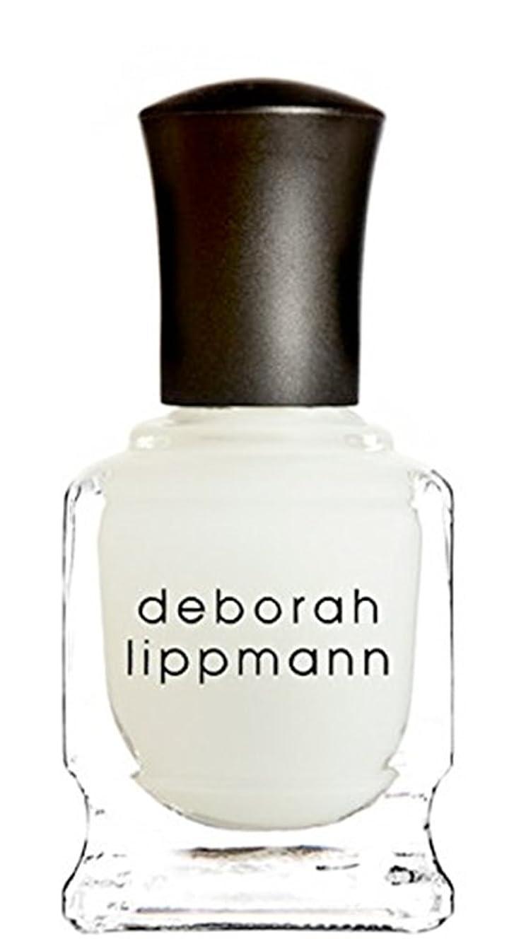 抗議タフご飯[Deborah Lippmann] デボラリップマン フラット トップ マット メーカー トップ コート FLAT TOP トップコート マット仕上げになるトップコートです さらっとして塗りやすく、お手持ちのネイルを ひと味違う質感で楽しめます 容量15mL