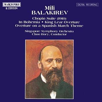 BALAKIREV: Chopin Suite / Overtures