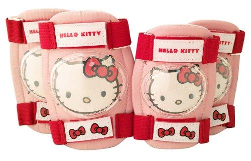 HELLO KITTY - Ginocchiere/gomitiere, 23 x 21 x 4 cm, Colore: Rosa