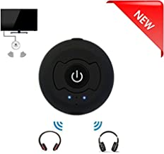 New eranton Portable Bluetooth Wireless A2dp Audio srereo Transmitter RCA/3.5mm Support Pairing Two Headsets Simultaneously for TV PC CD Player Kindle Fire iPod Mp3/mp4 Etc