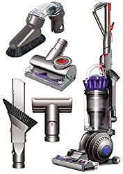 Dyson Ball (formerly DC65) Animal + Allergy Complete Upright Vacuum with 7 Tools - HEPA Filtered - Corded Includes Dyson Ball Upright Vacuum, Carbon fiber soft dusting brush, Combination Tool, Stair Tool, Stiff Bristle Brush, Multi-angle Tool, Flat O...