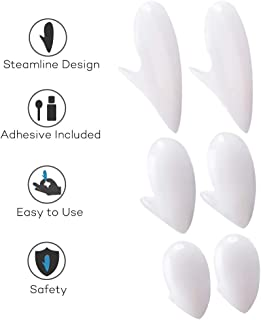 COTEY Halloween Vampire Teeth with Adhesive - Retractable Vampire Fangs for Kids and Adults, Halloween Costume Novelty & Monster Teeth, Easy to Apply and Remove