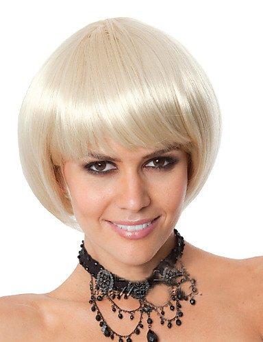 ahom (perruque Noble Hot Vendre le européen et américain court cheveux raides Blond