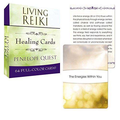 Living Reiki Healing Cards (Tarcher Inspiration Cards)
