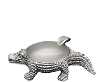 LBLMS Ashtray, Crocodile Ashtray, Business Gifts, Collections, Holiday Gifts, (Color : Multi-Colored)