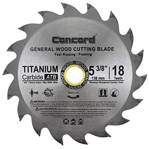 Concord Blades 12-Inch 120 Teeth TCT General Purpose Saw Blade