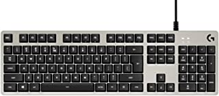 Logitech G413 Tastiera Gaming Meccanica, Tasti Retroilluminati, Romer-G Tactile Switch, Telaio in Alluminio Spazzolato, Ta...